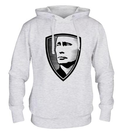 Толстовка с капюшоном «Портрет Путина»