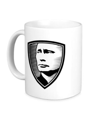 Керамическая кружка «Портрет Путина»