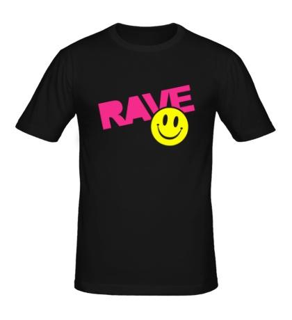 Мужская футболка «Rave Smile»