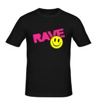 Мужская футболка Rave Smile