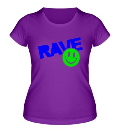 Женская футболка «Rave Smile»
