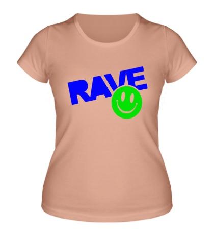 Женская футболка Rave Smile