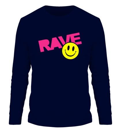 Мужской лонгслив «Rave Smile»