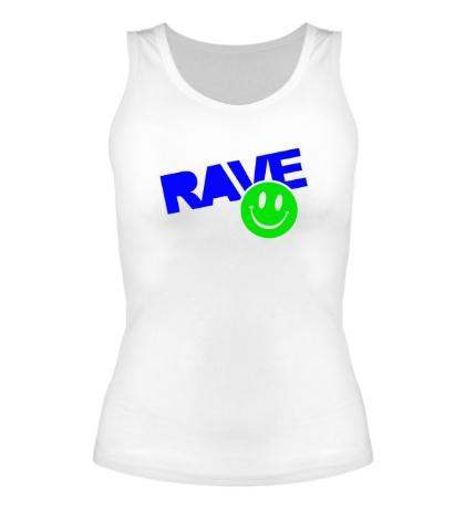 Женская майка «Rave Smile»