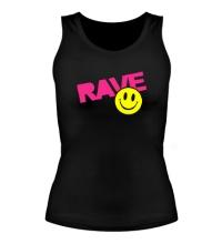 Женская майка Rave Smile