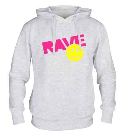 Толстовка с капюшоном «Rave Smile»