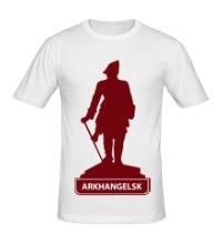 Мужская футболка Arkhangelsk City