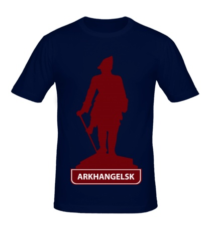 Мужская футболка «Arkhangelsk City»