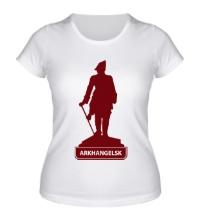 Женская футболка Arkhangelsk City