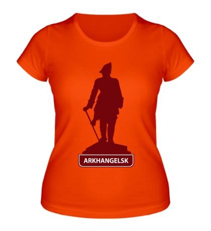 Женская футболка «Arkhangelsk City»