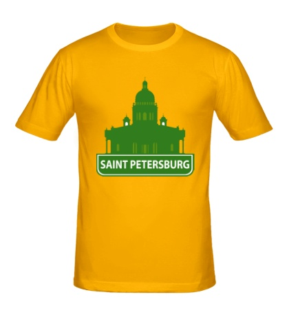 Мужская футболка «Saint-Petersburg City»