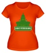 Женская футболка «Saint-Petersburg City» - Фото 1