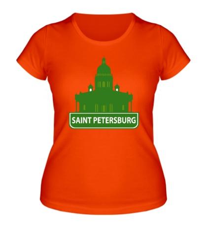 Женская футболка Saint-Petersburg City