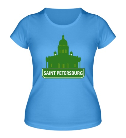 Женская футболка «Saint-Petersburg City»