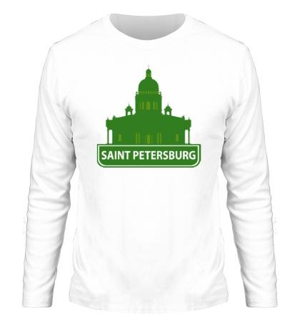 Мужской лонгслив «Saint-Petersburg City»