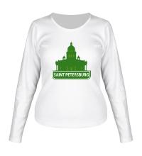 Женский лонгслив Saint-Petersburg City