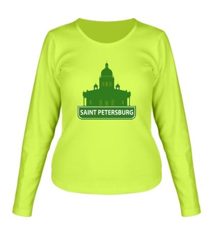 Женский лонгслив «Saint-Petersburg City»