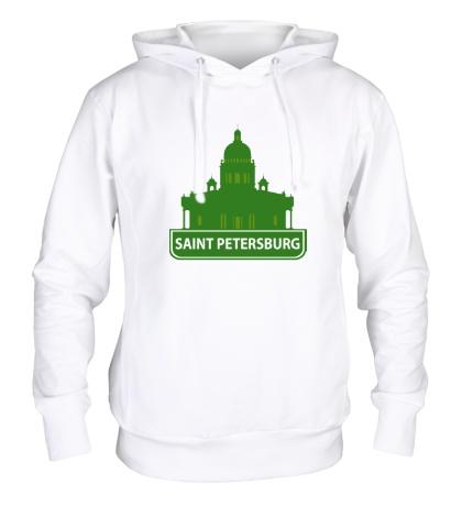 Толстовка с капюшоном «Saint-Petersburg City»