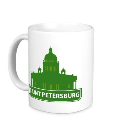 Керамическая кружка «Saint-Petersburg City»