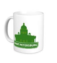 Керамическая кружка Saint-Petersburg City