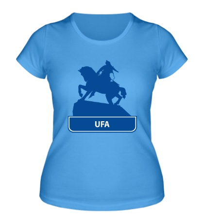 Женская футболка Ufa City