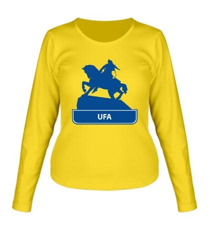 Женский лонгслив «Ufa City»