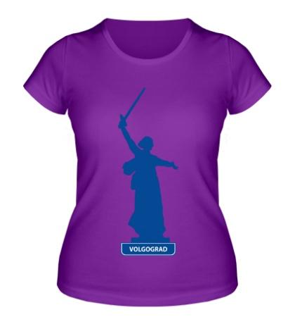 Женская футболка Volgograd City
