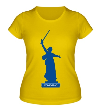 Женская футболка «Volgograd City»