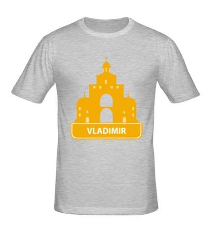 Мужская футболка Vladimir City