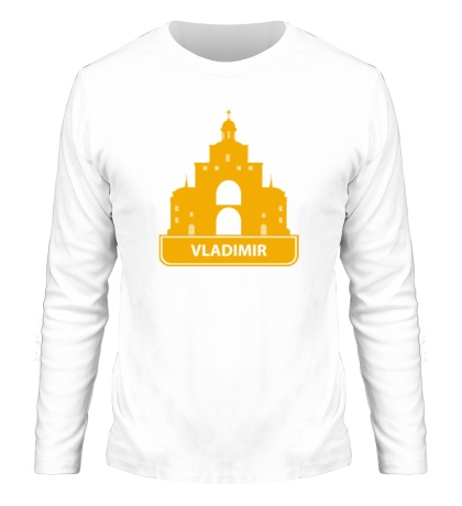 Мужской лонгслив «Vladimir City»