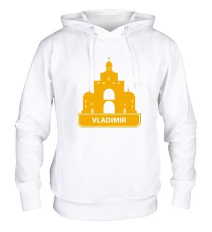 Толстовка с капюшоном Vladimir City