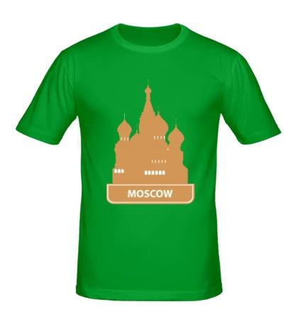 Мужская футболка Moscow City
