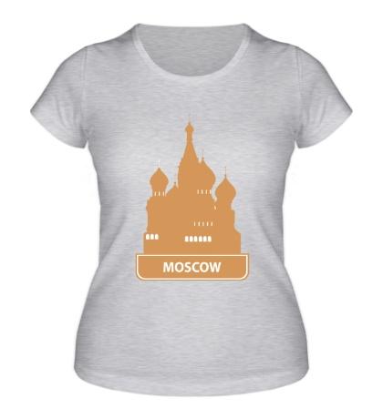 Женская футболка «Moscow City»