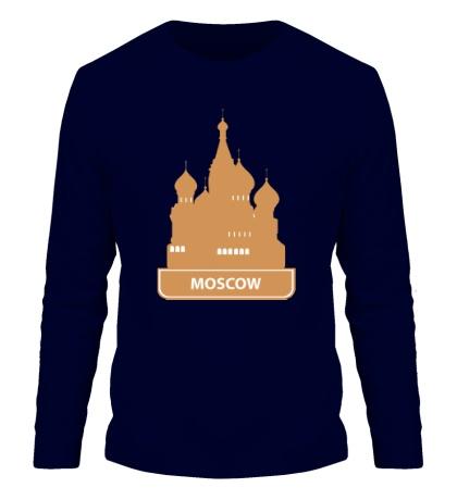 Мужской лонгслив Moscow City