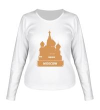 Женский лонгслив Moscow City