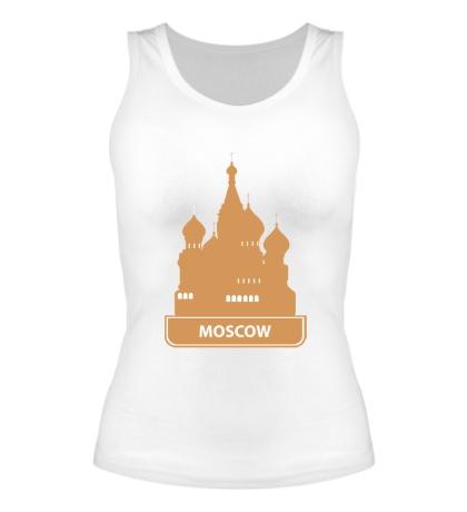 Женская майка Moscow City