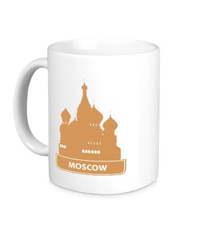 Керамическая кружка Moscow City