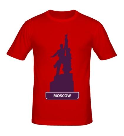 Мужская футболка «Моксва»