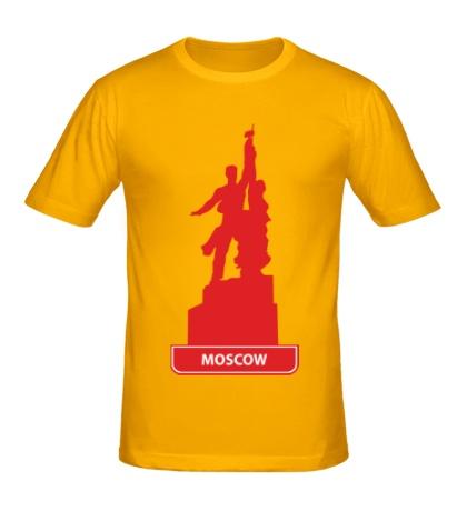Мужская футболка Моксва