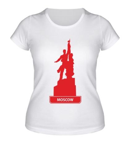 Женская футболка Моксва