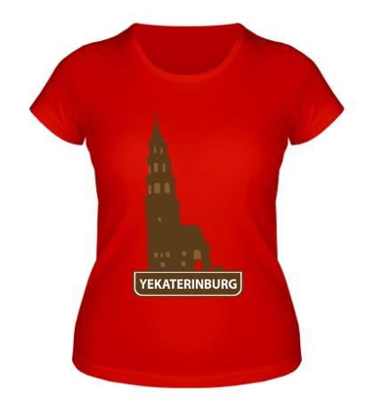 Женская футболка «Yeakaterinburg City»