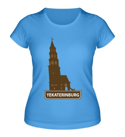 Женская футболка Yeakaterinburg City