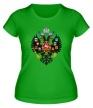 Женская футболка «Герб Российской империи» - Фото 1