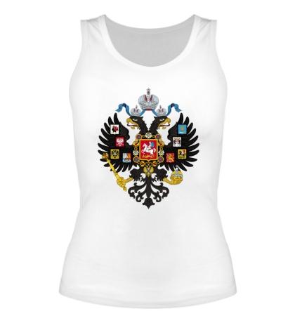 Женская майка «Герб Российской империи»