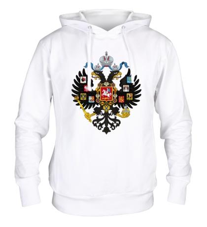 Толстовка с капюшоном Герб Российской империи