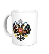 Керамическая кружка Герб Российской империи