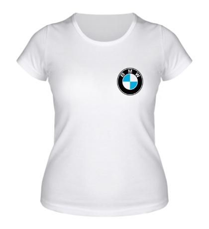 Женская футболка BMW Mark