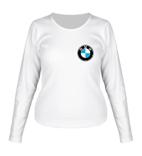 Женский лонгслив BMW Mark