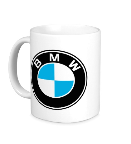 Керамическая кружка «BMW Mark»
