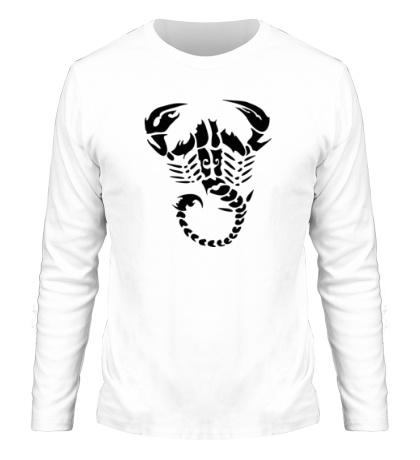 Мужской лонгслив Скорпион